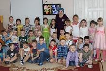 дети с ветераном