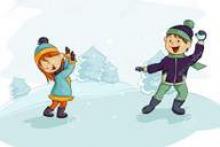 поиграем со снежками